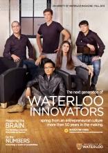 Waterloo Magazine Fall 2013 Edition