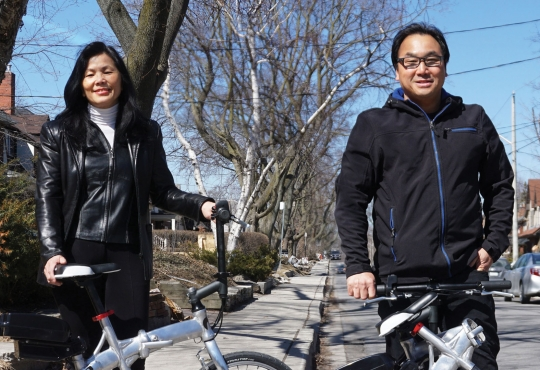 Mary and Henry Chong, founders of Revelo Electric Corp.