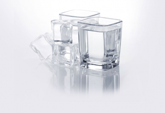 shot glasses of liquor
