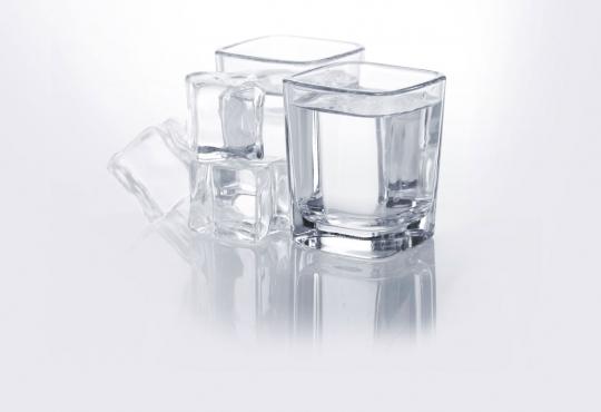 shot glasses of liquor