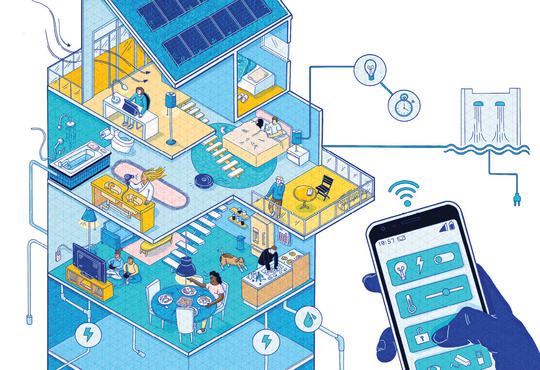 Looking inside a smart home