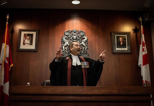 Citizenship judge Albert Wong