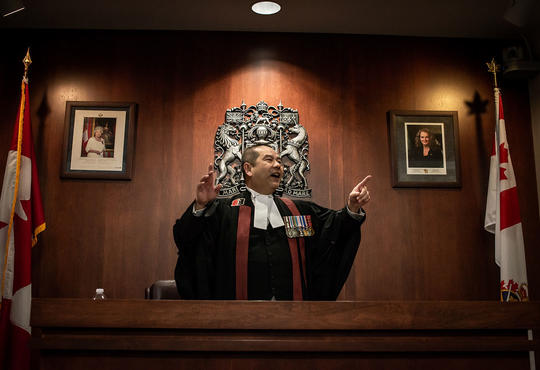 Citizenship judge Albert Wong