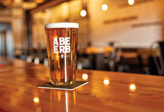 Beverage from Abe Erb Brewing Co