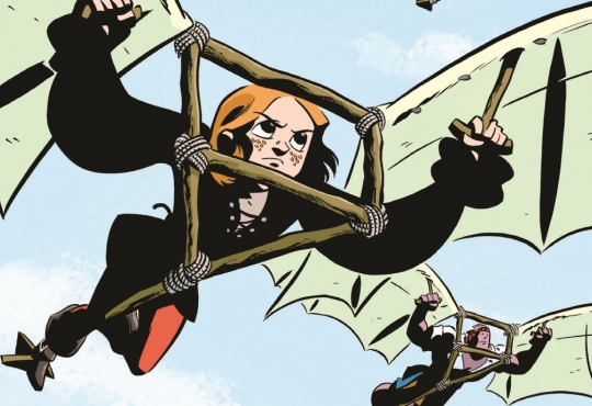 Scott's comic book art