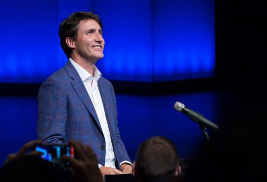Trudeau at Hack the North