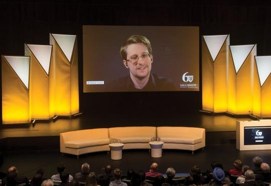Edward Snowden video