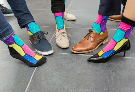StartUp Socks, a reward for making a pledge