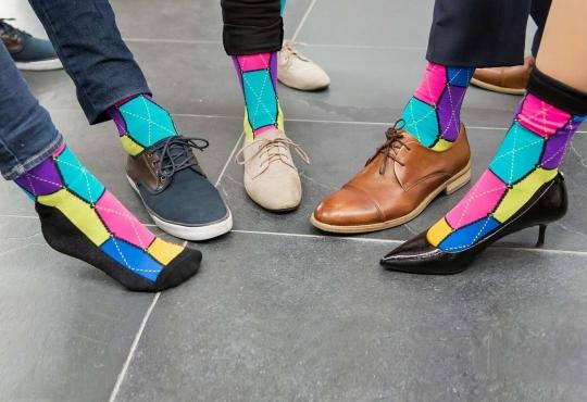 StartUp Socks, a reward for making a pledge