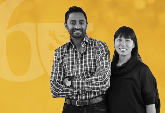 Chamath Palihapitiya and Brigette Lau