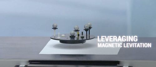 Maglev tabletop in RoboHub