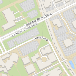 North Arrow On Map Of Canada.University Of Waterloo Campus Map