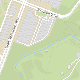 University Of Waterloo Campus Map