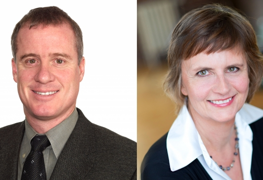 Mark Noskiewicz and Marilyn Sandford