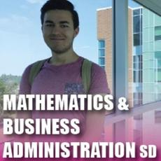 Click here for Mathematics and Business Administration Single Degree pamphlet PDF