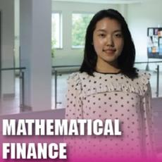 Click here for Mathematical Finance pamphlet PDF