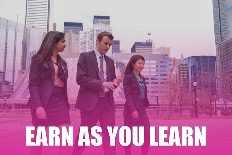 Earn as your learn