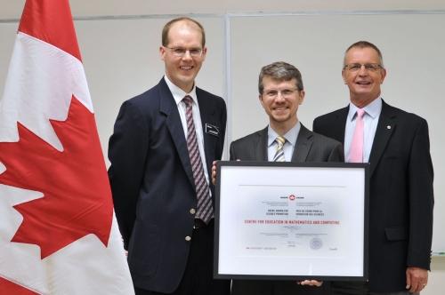 science promotion award presentation