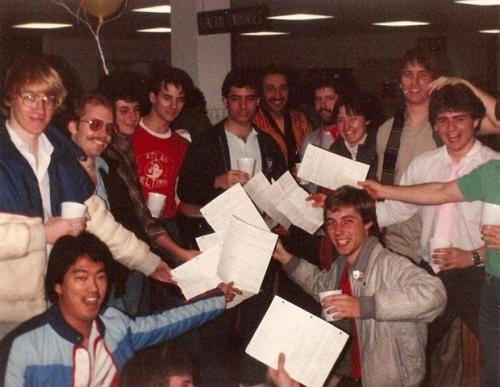 Class of 1984 photo.