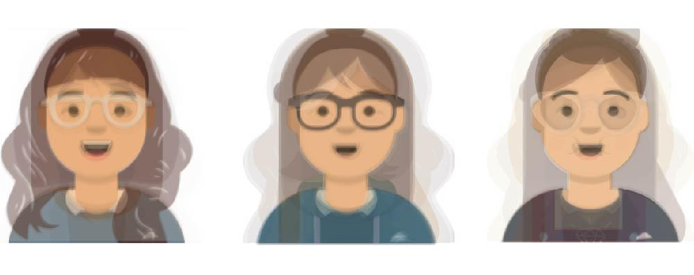 Virtual assistant renderings