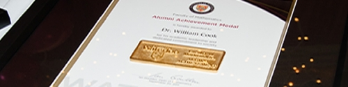 Faculty of Mathematics Alumni Achievement Medal