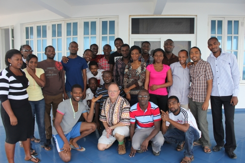 AIMS Ghana environmental fluid dynamics class photo.