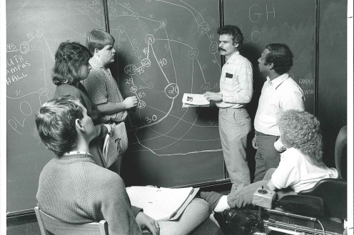 1988 C&O faculty and students