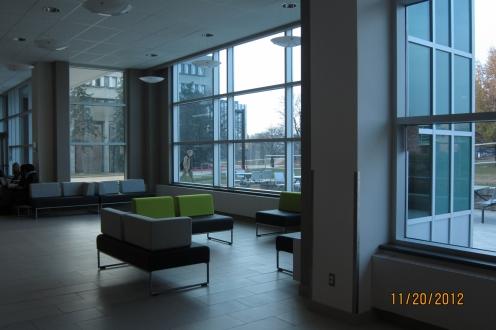 2012 photo of M3's interior