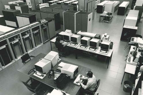 Overhead of the computer centre