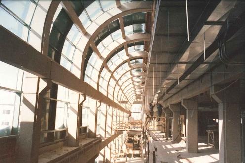 A photo of DC's interior
