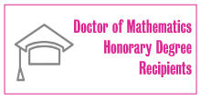 Icon for link to honourary doctor of mathematics page