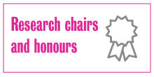 Icon for link to research chairs and honours page