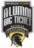 UWaterloo Warriors Alumni Big Ticket logo.