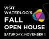 Visit Waterloo's Fall Open House. Saturday November 1.