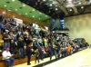Audience in Physical Activities Complex (PAC).