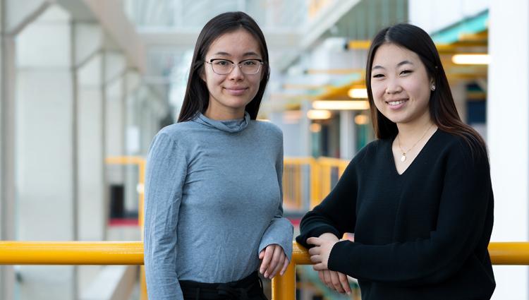 Lena Nguyen and Anne Chun