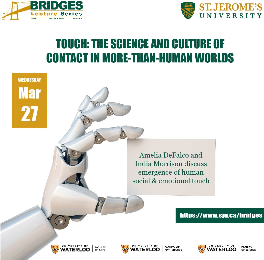 Bridges Lecture Series touch poster