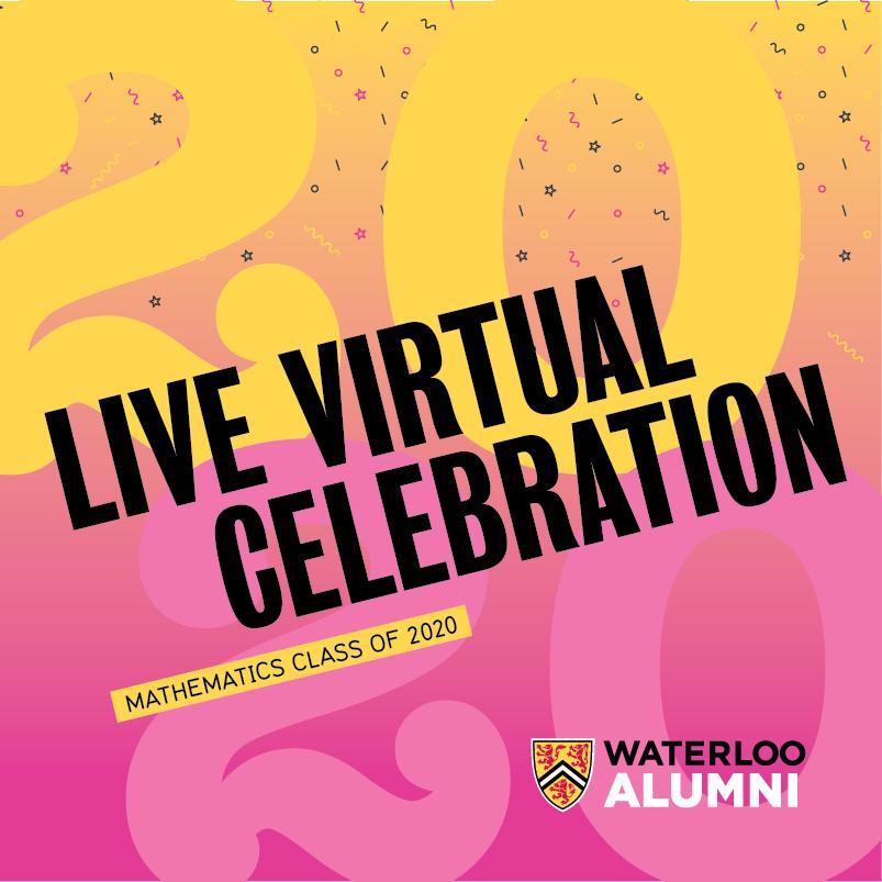 Live Virtual Celebration Mathematics Class of 2020