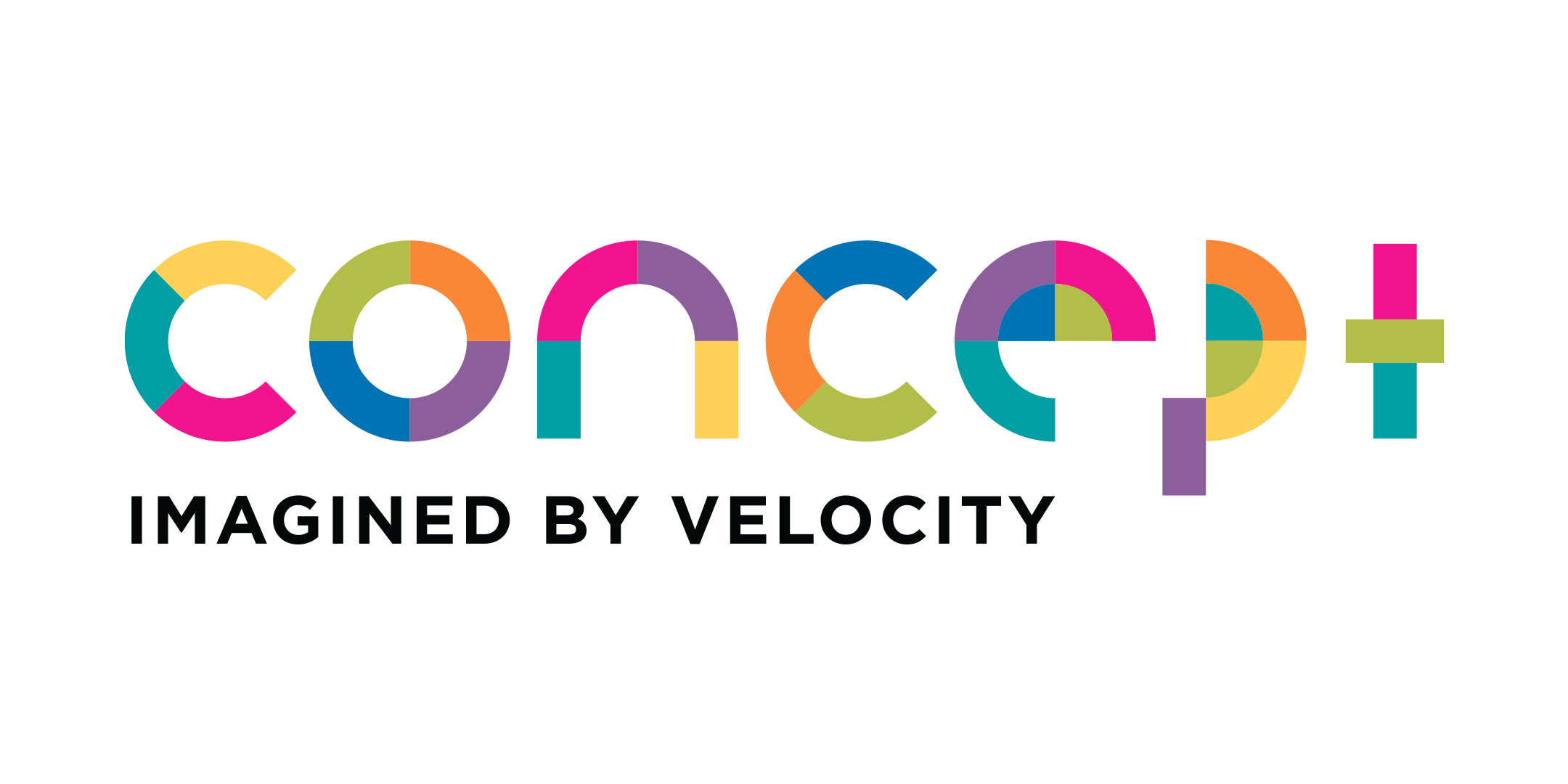 Logo of concept by velocity