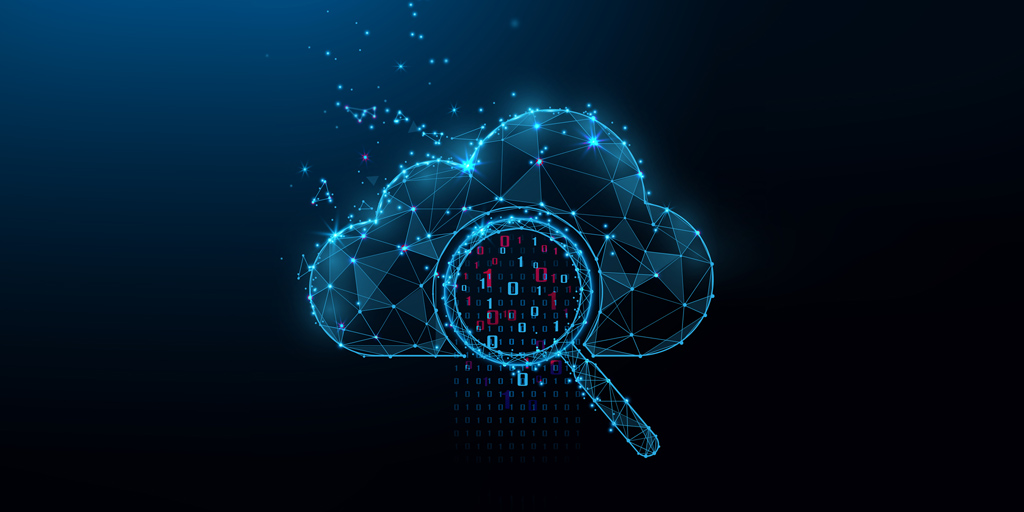 cryptographic in a cloud illustration