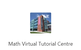 Screenshot of virtual tutorial centre in MS Teams