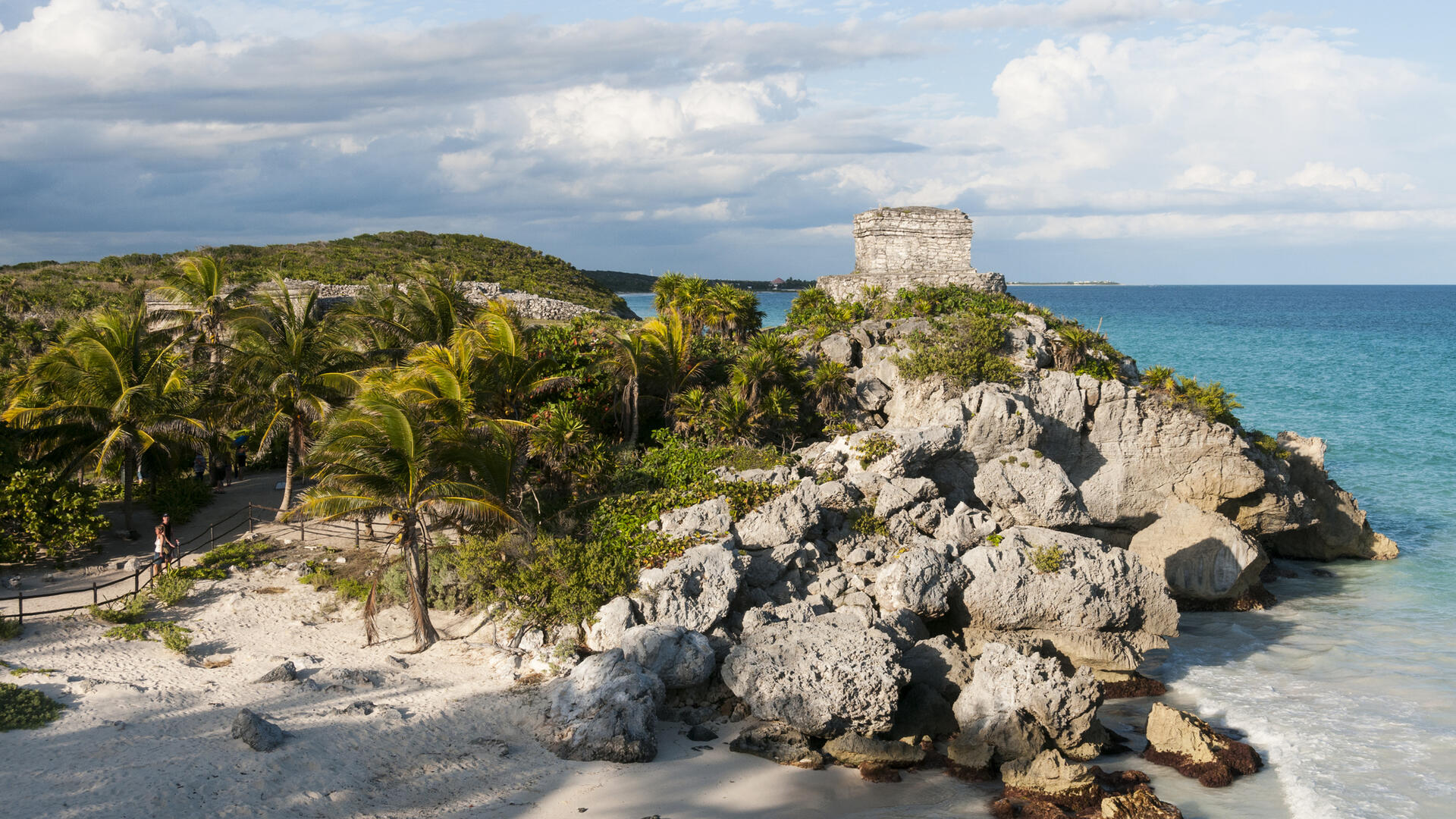 Yucatan limestone formations
