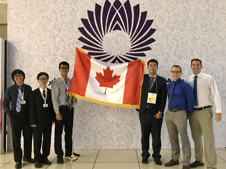 IOI 2017 Team Canada