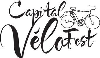 Capital Vélo Fest logo.