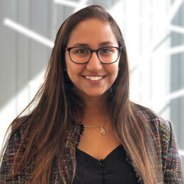 Miraal Kabir, a first-year Waterloo computer science student and user experience and user interface designer for Flatten.