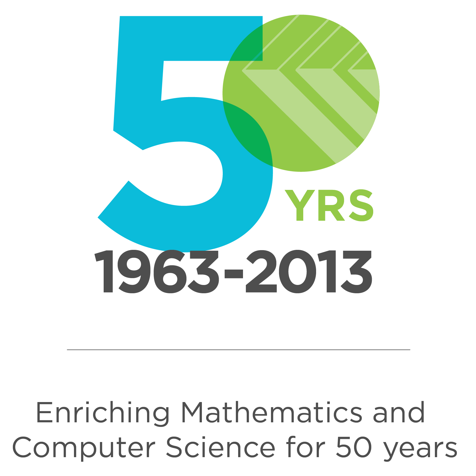 CEMC 50th anniversary logo.