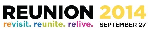 2014 reunion logo