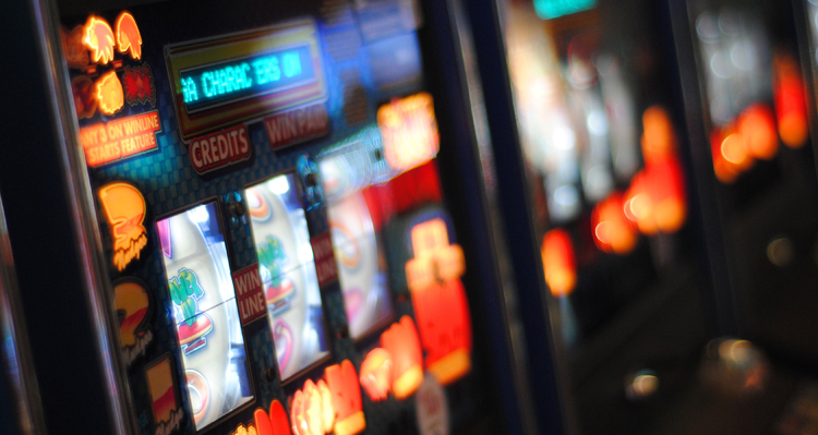 Slot machine. Photo credit: