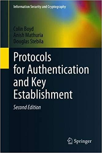 Cover of book Protocols for Authentication and Key Establishment