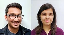 Tanay Singhal and Mahika Phutane
